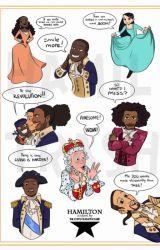Hamilton Reacts to Hamilton Ships  by ScalyFrogBuddy