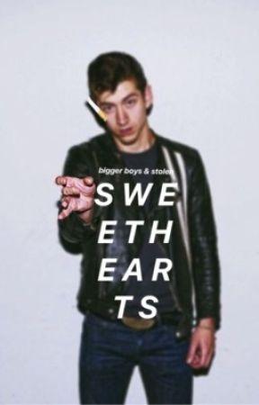 Bigger Boys & Stolen Sweethearts - Alex Turner by cresseeta