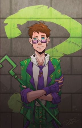 Riddle Me This! (Riddler! Male Reader x RWBY) by AntiheroicShadow
