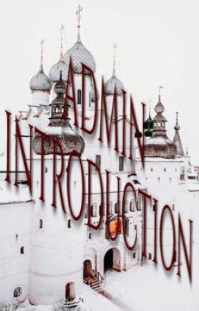 ADMIN INTRODUCTION by fantasysociety