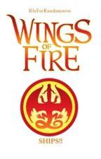 WINGS OF FIRE: SHIPS!! by RIsForRandomness