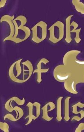 Book Of Spells by ShyTheWolf_