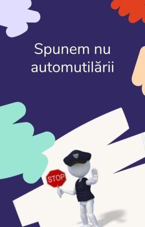 Campania Spunem NU automutilării by WattpadWellnessRO