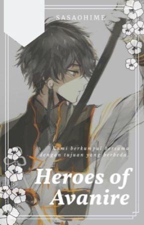 Heroes Of Avanire by sasaohime