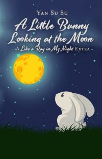 A Little Bunny Looking at the Moon (BL) cover