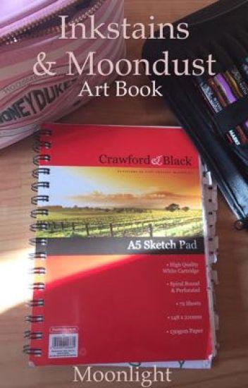 Inkstains & Moondust // Art Book