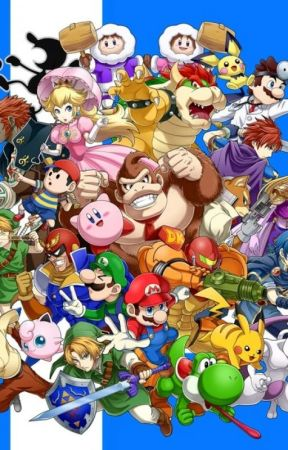 Super Smash Bros, Mario x Reader by The_Red_Capped_Hero