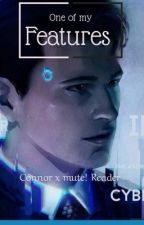one of my features (DBH connor x mute!reader) by thesmallstorm