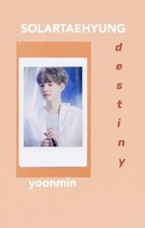 destiny ||yoonmin|| by solartaehyung