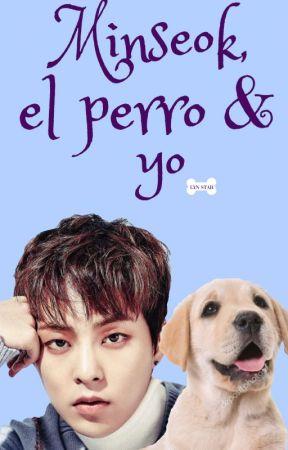 Minseok, el perro & yo by PeachPrincessH