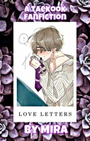 LOVE LETTERS. | TAEKOOK by Bunny-Kooks