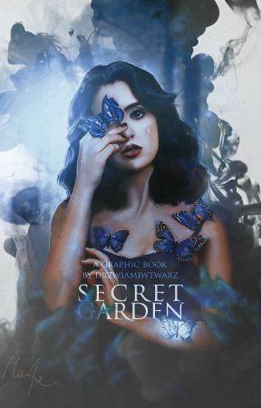 Secret garden | graphic book by drzwiamiwtwarz