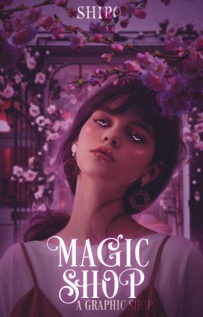 Magic Shop   a graphic shop by qwShiro