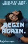 BEGIN AGAIN. cover