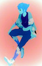 Lapis Lazuli X Fem Half Gem Reader by KattMantane
