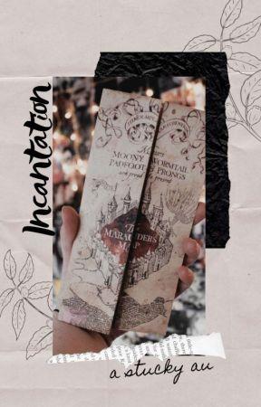incantation ━━☆ a stucky au by rebeccaiswriting