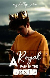 A Royal Pain In The Texts | √ cover