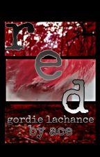 red | gordie lachance ✅ by babyboyace