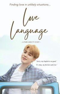 Love Language [A Park Jimin FF] cover