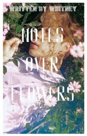 notes over flowers; yoonmin by berabee