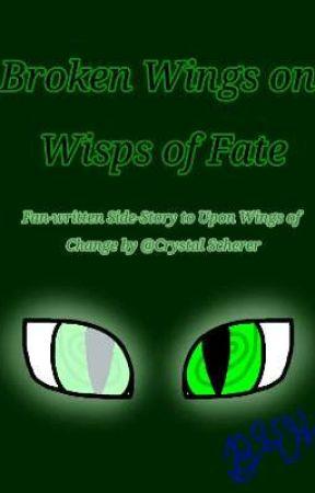 Re-Writing   Broken Wings on Wisps of Fate by Bluekittyhorse