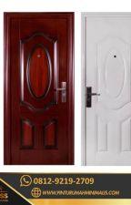 0812-9219-2709 [ CALL / WA ] Sale Pintu Rumah Putih Minimalis by pinturumahputihmini