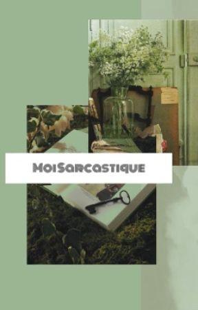 moi sarcastique  by godofangelss