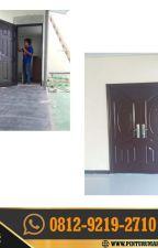 0812-9219-2710 [ CALL / WA ] Sale Pintu Rumah Gandeng, Pintu Rumah Pakai Hpl by pinturumahcanggih