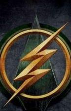 The flash X green arrow X rwby crossover  by teverittt