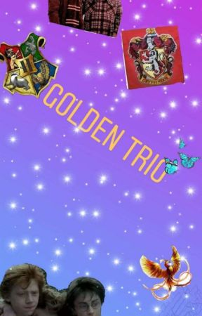 The Golden Trio by Biastef3012