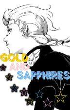 Gold And Sapphires  (JJBA) by Yuki1014o