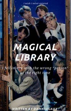 Magical Library | BTS  by D4MNSUGAXX