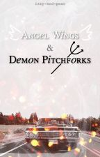 Angel Wings and Demon Pitchforks by izzy-pear-ophelia