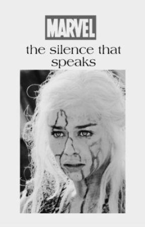 the silence that speaks• MARVEL  by bbydangerousw