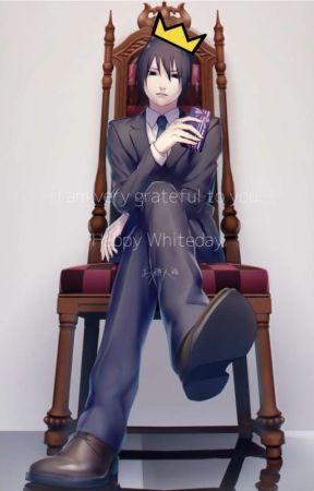 Sasunaru with teen Naruto and adult Sasuke (Chapters) by semesasu