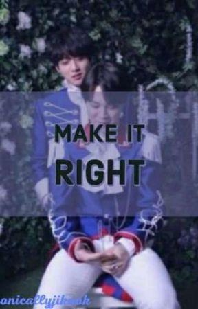 Make It Right    jikook by ironicallyjikook
