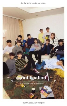 notification; seventeen instagram by chweseoul