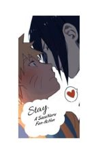 Stay. (( SasuNaru )) by bluxshy