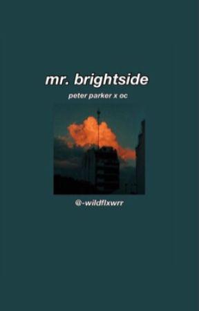 𝙢𝙧. 𝙗𝙧𝙞𝙜𝙝𝙩𝙨𝙞𝙙𝙚🕷                                (PETER PARKER X OC)  by -wildflxwrr