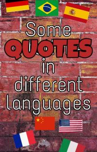 Beautiful quotes in different languages  cover