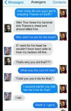 Avengers group-chat x reader by StarrForshaw