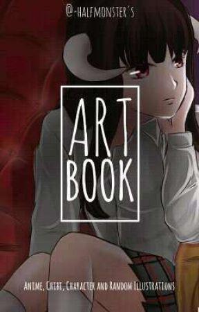 Art Book - [ h a l f • m o n s t e r ] by -maikadesu