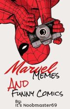 Marvel memes and Comics  by itsnoobmaster69