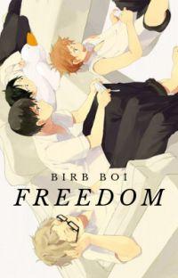 Freedom-A Haikyuu x BNHA Fanfic- Karasuno x Fem!Reader cover