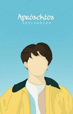 APRÓSEKTOS  by leycookies
