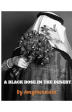 A black rose in the desert by amyhunnam