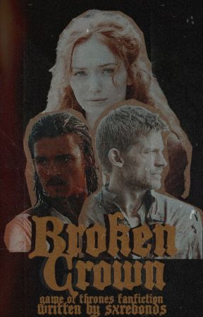 𝐁𝐑𝐎𝐊𝐄𝐍 𝐂𝐑𝐎𝐖𝐍 game of thrones by aphrodxtes