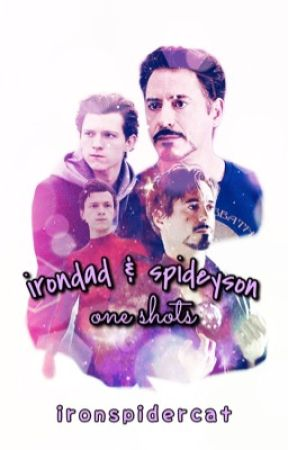 Irondad & Spiderson · One-Shots by ironspidercat