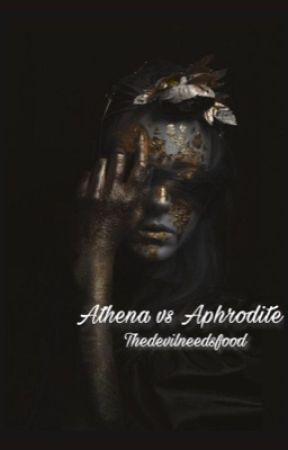 Athena vs Aphrodite by thedevilneedsfood