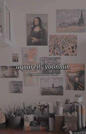 aquarell ' yoonmin by yoonminietrasher